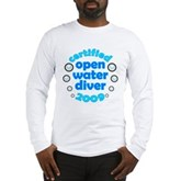 Open Water Diver 2009 Long Sleeve T-Shirt