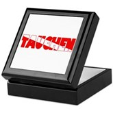 Tauchen German Scuba Flag Keepsake Box