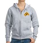 Watch Out! Women's Zip Hoodie