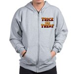 Trick or Treat Zip Hoodie