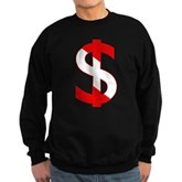 Scuba Flag Dollar Sign Sweatshirt (dark)
