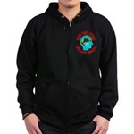 Keep Your Cures Zip Hoodie (dark)