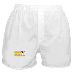 Black Belt in Keepin It Real Boxer Shorts