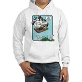  Squirrels, Get Off My Lawn! Hooded Sweatshirt