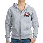 Obama For Peace Women's Zip Hoodie
