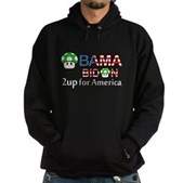 2up for America Hoodie (dark)