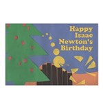 Isaac Newton Day Postcard