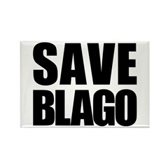 Save Illinois Governor Blagojevich, he's innocent! Rectangle Magnet