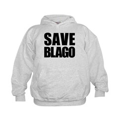 Save Illinois Governor Blagojevich, he's innocent! Kids Hoodie