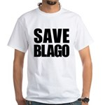 Save Illinois Governor Blagojevich, he's innocent! White T-Shirt