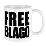 Free Illinois Governor Blagojevich, he's innocent! Mug