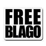 Free Illinois Governor Blagojevich, he's innocent! Mousepad