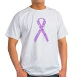 Purple Footprints Light T-Shirt