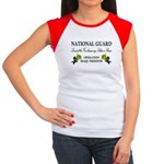 National Guard Soldier is Brave Women's Cap Sleeve