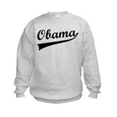 Obama Swish Kids Sweatshirt