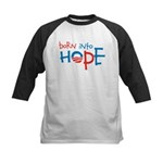 Born Into Hope Kids Baseball Jersey
