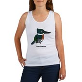 Green Kingfisher Women's Tank Top