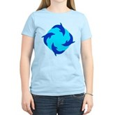 Dolphin Ring Women's Light T-Shirt