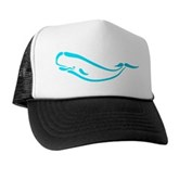 Stylized Sperm Whale Trucker Hat