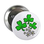 "Irish Shamrocks 2.25"" Button (10 pack)"