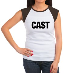 Cast Member T-Shirts Women's Cap Sleeve T-Shirt