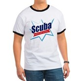 Scuba Take Me Away Ringer T