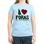 I Heart Forks, WA - Twilight Women's Light T-Shirt