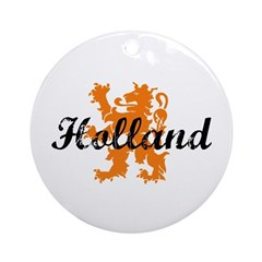 Holland Ornament (Round)