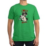 Love Stinks Cupid Valentine Men's Fitted T-Shirt (