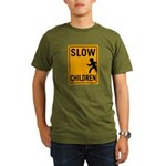 Slow Children Organic Men's T-Shirt (dark)