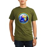 Autistic Planet Organic Men's T-Shirt (dark)