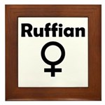 Ruffian Framed Tile