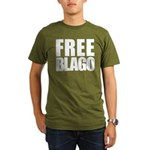 Free Illinois Governor Blagojevich, he's innocent! Organic Men's T-Shirt (dark)