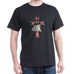 Knight Templar Black TShirt