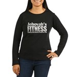 Jehovah's Fitness Women's Long Sleeve Dark T-Shirt