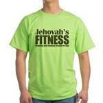 Jehovah's Fitness Green T-Shirt