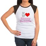 I Love Runny Babbits Women's Cap Sleeve T-Shirt
