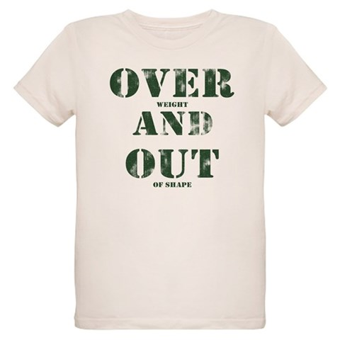 Over & Out Organic Kids T-Shirt