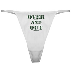 Over & Out Classic Thong
