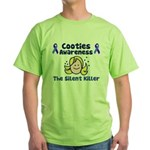 Cooties Awareness Green T-Shirt