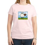 Spring Sheep Women's Light T-Shirt