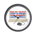 QWERTY B.C. Wall Clock