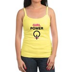 Girl Power Symbol Jr. Spaghetti Tank