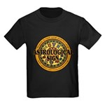 Astrological Sign Kids Dark T-Shirt