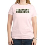 Terrorist Emboldener Women's Light T-Shirt