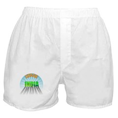 Chennai India Boxer Shorts