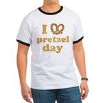 I Pretzel Pretzel Day Ringer T