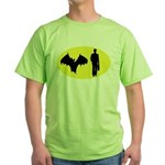 Bat Man Green T-Shirt