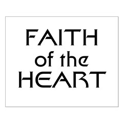 Faith of the Heart Small Poster