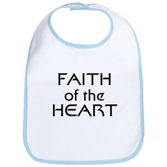 Faith of the Heart Bib